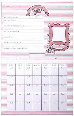 New Carter's First Year Calendar Sweet Sparkle milestones Reminder Baby Memory