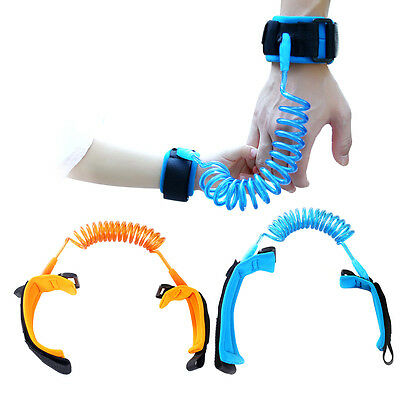 Kids Baby Outdoor Anti Lost Traction Rope Leash Safe Harness Wristband Belt AU