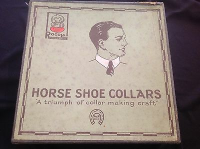 Vintage Box Rocola Horse Shoe Collars