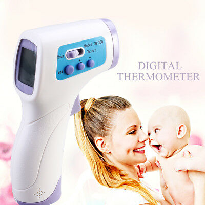 Digital Infrared Thermometer Non-Contact Body Forehead Nurse for Baby Adult Kids