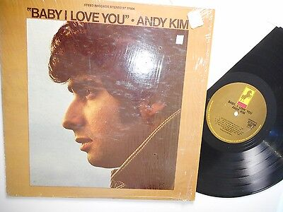 baby I love    ANDY KIM          Steed label ST 37004