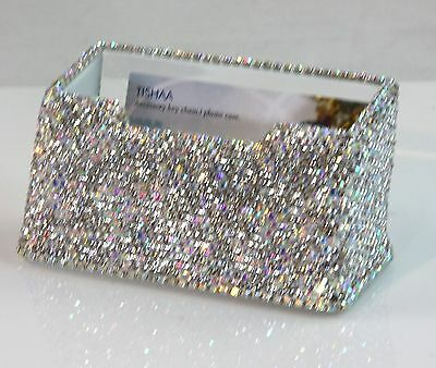 High Quality Bling Bling Spark Crystal Cute Decorative Business Card Holder,USA
