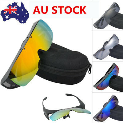 Myopia Polarized Sunglasses UV400 Lens Driving Outdoor Sport Flip Up Sunglasses
