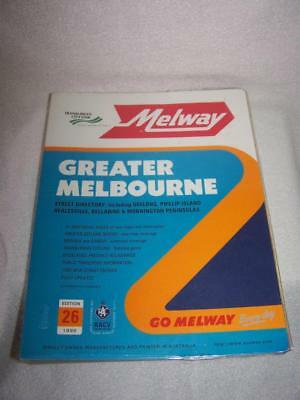 Melway 1999 Melbourne Street Directory Edition 26 - Victoria Police preferred