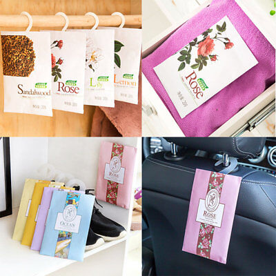 Sachets Scented Hanging Perfumed Bags Wardrobe Clothes Drawer Home Air Freshener