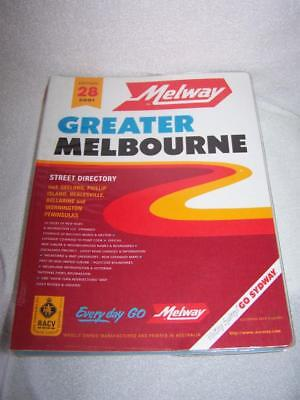 Melway 2001 Melbourne Street Directory Edition 28 - Victoria Police preferred