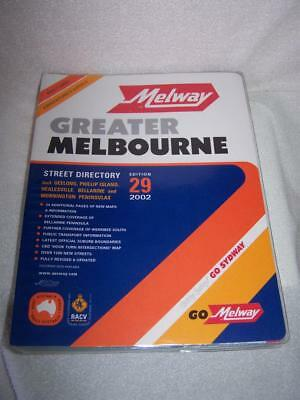 Melway 2002 Melbourne Street Directory Edition 29 - Victoria Police preferred