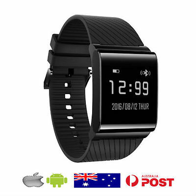 Activity Fitness Tracker Heart Rate Sleep Monitor Pedometer Fitbit Style Watch