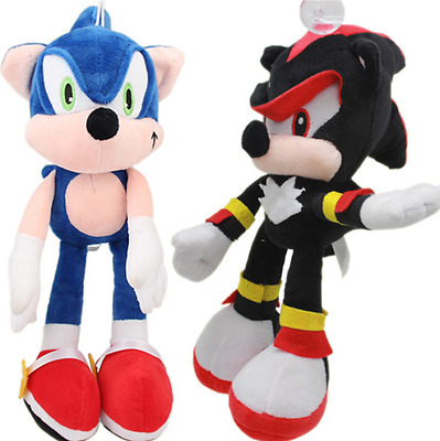 "12"" Sonic The Hedgehog Plush Soft Toy Knuckles Tails Shadow Amy Teddy Bnwt New"