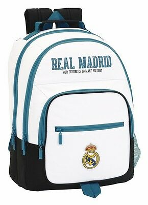 REAL MADRID Mochila grande escolar doble/backpack/sac à dos/zaino/rucksack