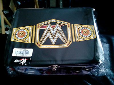 WWE World Heavyweight Championship Title Belt Black Lunch Box