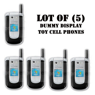 Lot of (5) New Verizon windows mobile PN820 Mock Dummy Display Toy Cell Phones