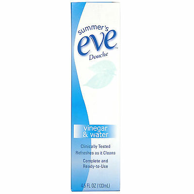 Summer's Eve Douche - Extra Cleansing Vinegar and Water 133ml