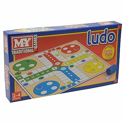 Traditional Classic Ludo Indoor Board Game Kid Children Adult Family Fun Game