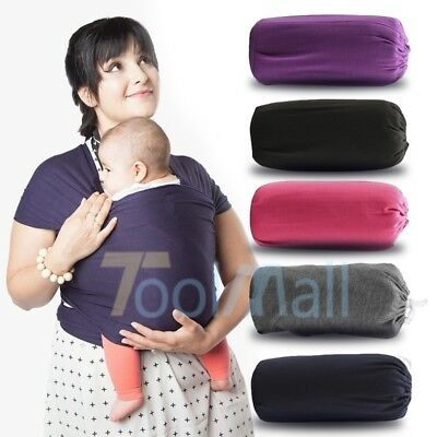 Mothers' Gift Adjustable Baby Wrap Rope Infant Newborn Cotton Baby Carrier Sling