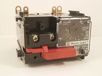 Square D Overload Relay 9065-Ss020 6-18 Amps