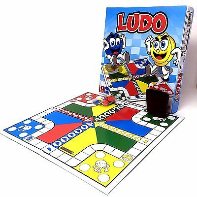 Traditional Classic Ludo Board Game Kid Children Adult Family Fun Play Game