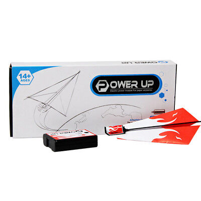 Funny Power Up Electric Paper Plane Conversion Kit Fashion Educational Toys