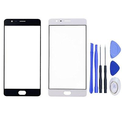 Front Screen Outer Glass Lens Panel Replacement For OnePlus 3 With Tools