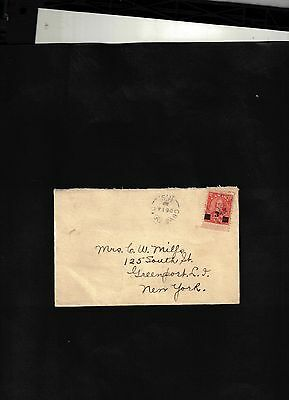 1932 Cover sent from Cove Road N.S. to U.S.
