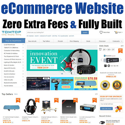 Website - Ecommerce - Internet Business - Online Affiliate - Money - For Sale