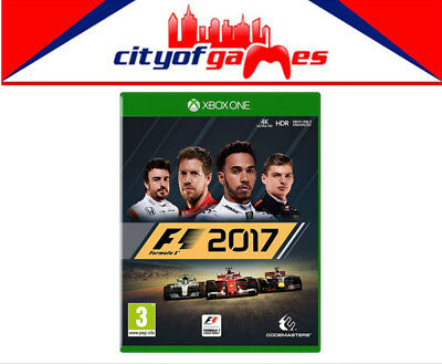 F1 2017  Xbox One Game New & Sealed Free Express Post Pre Order