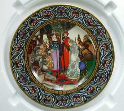 Heinrich Germany Villeroy & Boch The Snow Maiden Russian Fairy Tales Plate
