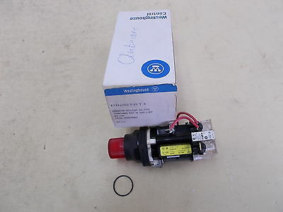 Westinghouse, Red Illuminated Pushbutton Switch, PB2GTRT1