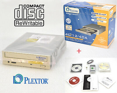 Plextor Px-W4012Ta Ide Original Retail Package Cd-Rw Drive 40/12/40  O448