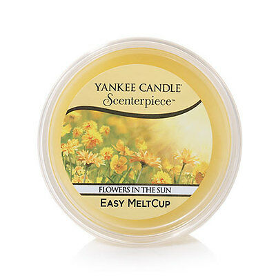 (6) Yankee Candle Scenterpiece Easy MeltCups FLOWERS IN THE SUN
