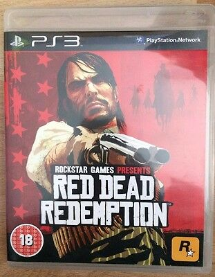 Red Dead Redemption Ps3 Excellent Complete In Box *free Uk Delivery*