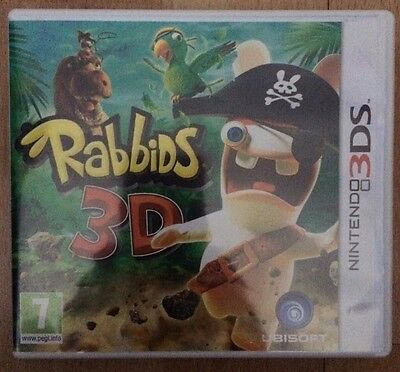 Rabbids 3D (Nintendo 3DS, 2011) PAL VERSION + FREE UK DELIVERY