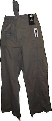 """NEW Ladies George Brown Coloured Cargo Trousers Size 12 L30"""" - 100% Cotton (M.S)"""