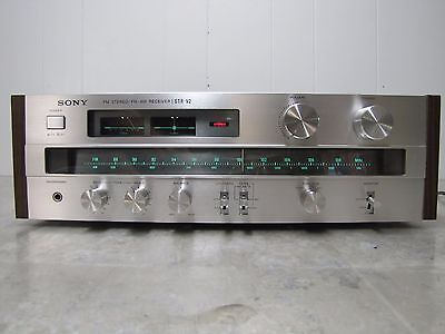 Sony Str-V2 Vintage 70's Am/fm Stereo Receiver Works Well Vgc Clean In & Out
