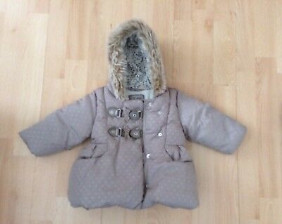 Baby Padded Jacket. Age 3-6 Months
