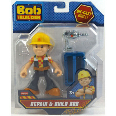 Repair and Build Bob Action Figure Bob the Builder Figure Fisher Price 3Yrs+NEW