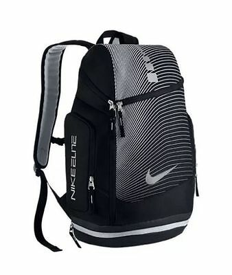 Unisex Nike Hoops Elite Max Air Graphic Basketball Backpack Ba5264 011 Black New
