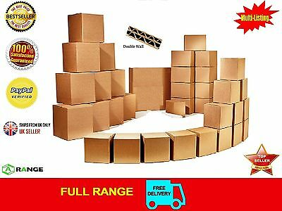 Strong Double Wall Moving House Removal Shipping Mailing Boxes Box Cheap