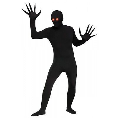 Shadow Costume Adult Scary Halloween Fancy Dress