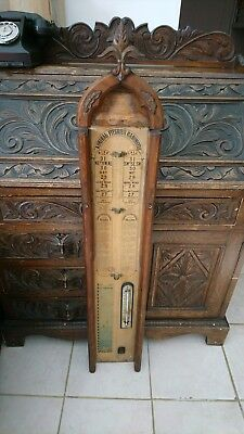 Antique Admiral Fitzroy's Barometer – Restoration Project