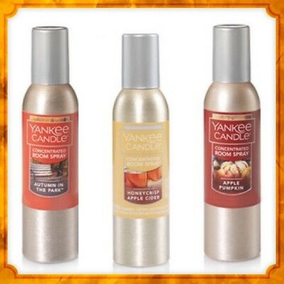 Yankee Candle 1.5oz Concentrated Room Sprays - Autumn 2017