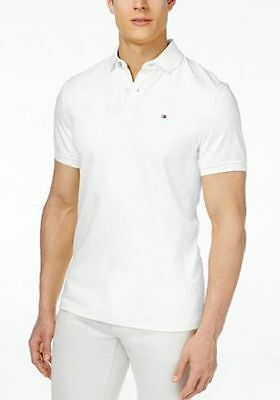 *NWT* Tommy Hilfiger Polo Shirt Mens Custom Fit Short Sleeve Casual *VARIETY*