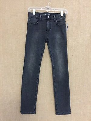 GAP KIDS 1969 Faded Black Slim Skinny Jeans Sz 14 NWT