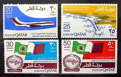QATAR 1974 Aviation Day (4) SG525-528 U/M NB2513