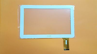 Weiß - Touchscreen Digitizer Display Glas kompatibel für Irulu expro X1 Plus