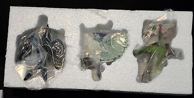 12 Danbury Mint Song Bird Christmas Ornament Collection