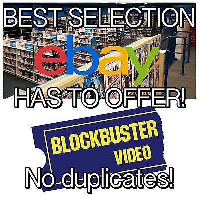 33 ASSORTED DVD / BLU RAYS Movies Bulk DVDs - DVD Lot Wholesale