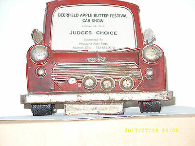 Vintage Advertising Display Stand - Unusual - Auto Front End