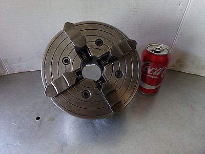 """7 1/2"""" South Bend Lathe Works Skinner 4 Jaw Chuck No. 4207-58 D1-4 Heavy 10"""