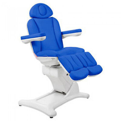 3 Motor Split Leg Podiatry and Chiropody Couch - Last one in clinic BLUE